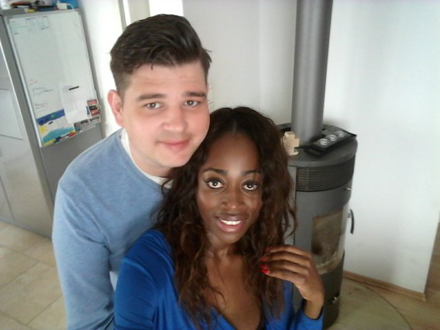 Interracial Couple Annique & Jan - Mannheim, Baden-Wurttemberg, Germany