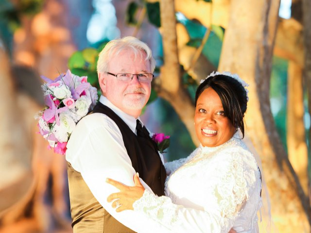 Interracial Marriage Debbie & Fred - California, United States