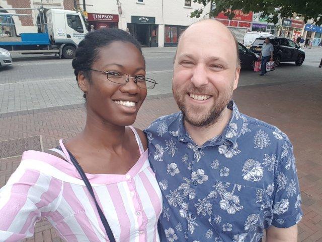 Interracial Couple Ola & Dan - England, United Kingdom